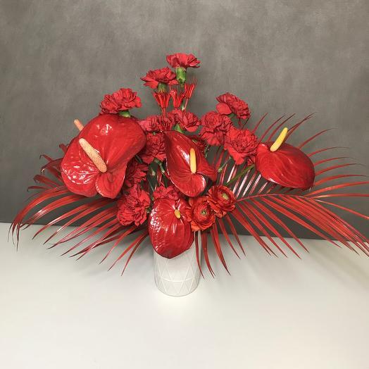 Red Hot: букеты цветов на заказ Flowwow