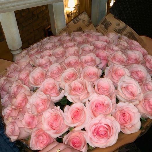 """""""Букет из 51 роз"""": букеты цветов на заказ Flowwow"""