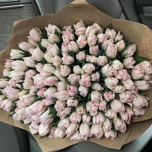 """""""Нежные тюльпаны"""": букеты цветов на заказ Flowwow"""