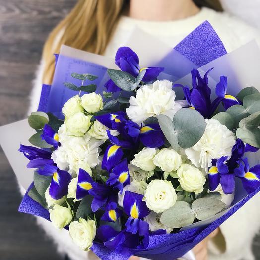 Букет - комплимент 8: букеты цветов на заказ Flowwow
