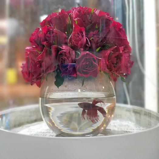Red Fish: букеты цветов на заказ Flowwow