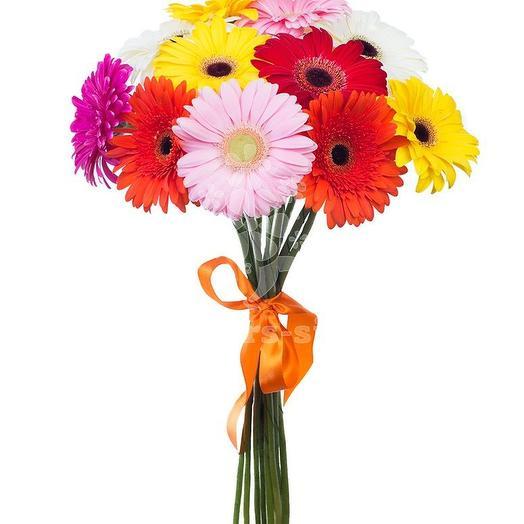 Букет из 11 гербер: букеты цветов на заказ Flowwow
