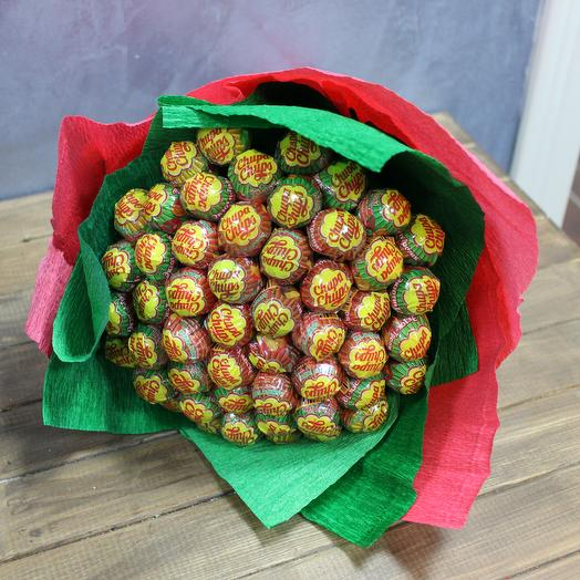 Bouquet of Chupa Chups