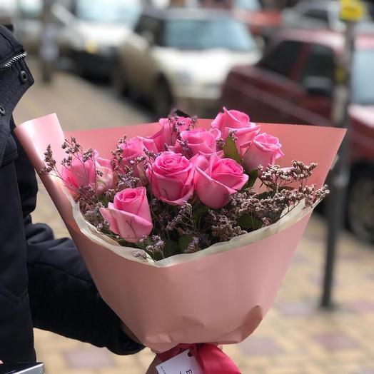 «Розовый лед»: букеты цветов на заказ Flowwow