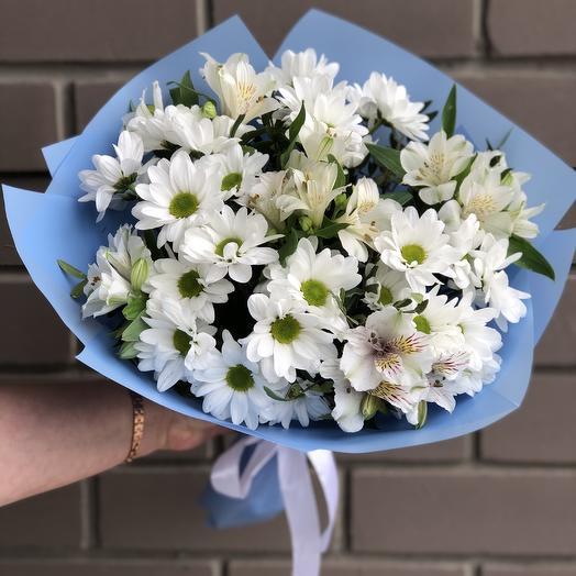Белый микс: букеты цветов на заказ Flowwow
