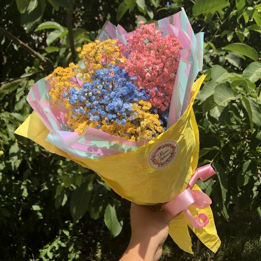 Радужный букетик: букеты цветов на заказ Flowwow
