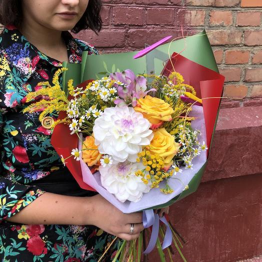 Яркие эмоции 1 сентября: букеты цветов на заказ Flowwow