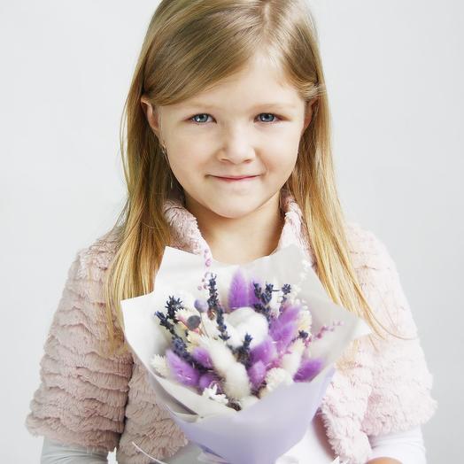 """3 """"Лиловый"""" (детский): букеты цветов на заказ Flowwow"""