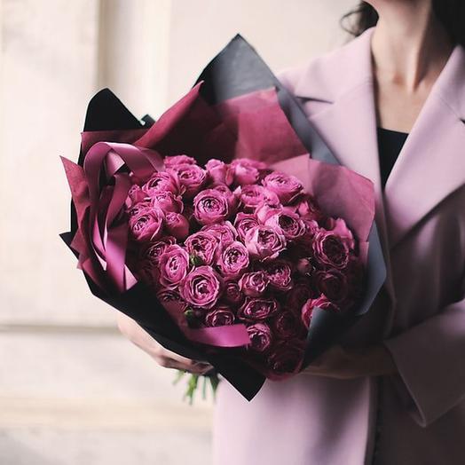 "Букет ""Мисти Баблз"" Medium: букеты цветов на заказ Flowwow"