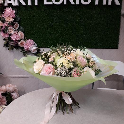 Светлый восторг: букеты цветов на заказ Flowwow