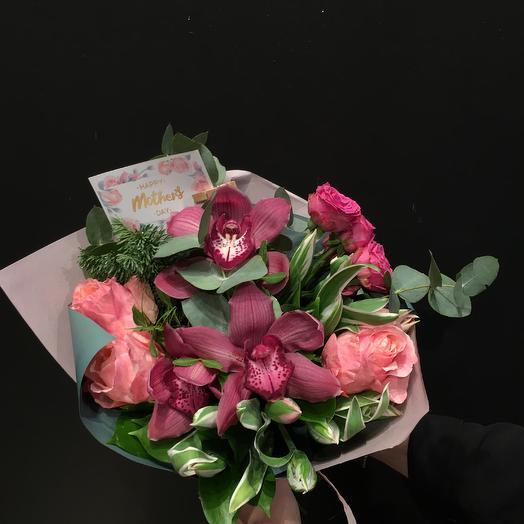 Букет День Матери 5: букеты цветов на заказ Flowwow