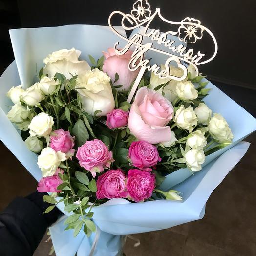 Нежный 💕: букеты цветов на заказ Flowwow
