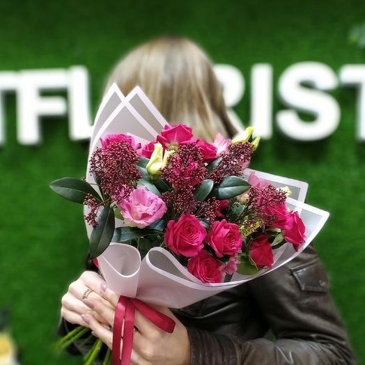 Девичий комплимент: букеты цветов на заказ Flowwow