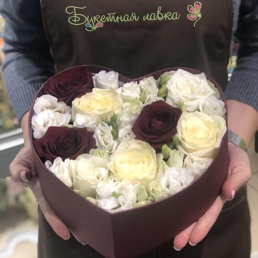 Нежное сердце: букеты цветов на заказ Flowwow