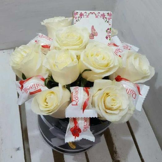 Сладкая роза: букеты цветов на заказ Flowwow