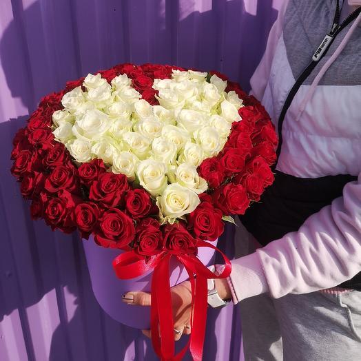 Сердце new💥: букеты цветов на заказ Flowwow