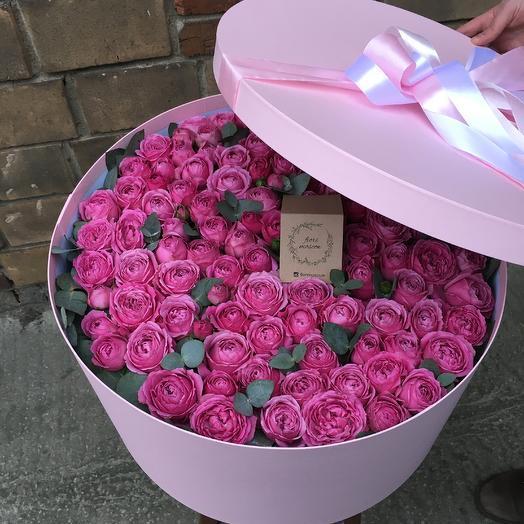 Коробочка с сюрпризом. Премиум: букеты цветов на заказ Flowwow
