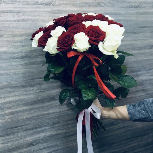 ✅ Букет Роз 21 Хит