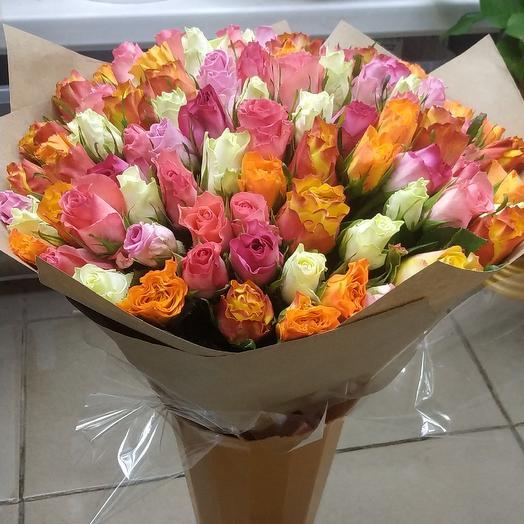 101 миксовая роза