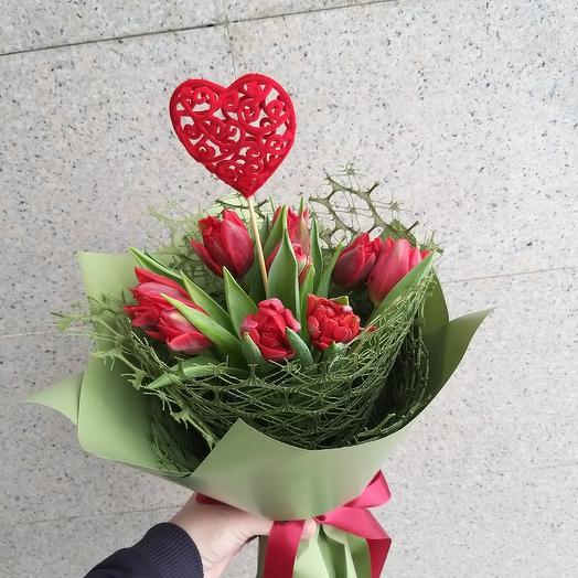 Яркое признание: букеты цветов на заказ Flowwow
