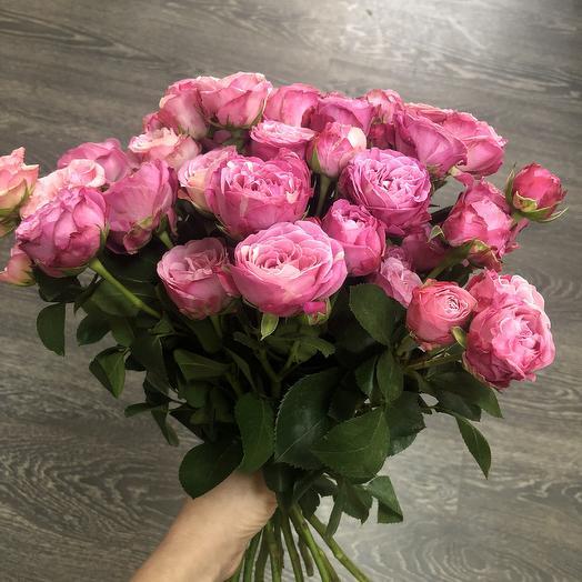 9 кустовых роз: букеты цветов на заказ Flowwow