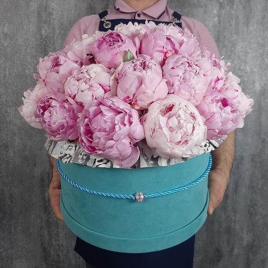 Пионовые улыбки: букеты цветов на заказ Flowwow