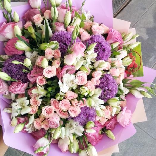 Букет Нежность 2.0: букеты цветов на заказ Flowwow