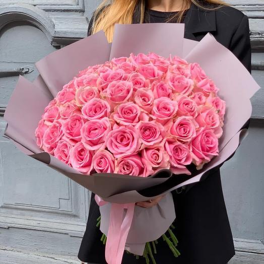 Pink Rose Large 60см