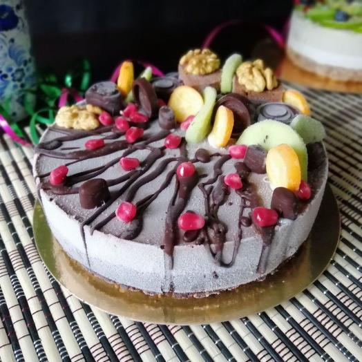 Торт Брауни rawcake