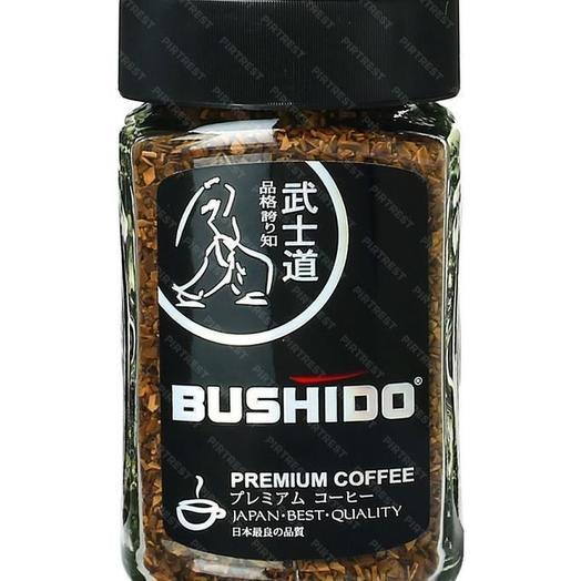 Кофе растворимый Bushido Блэк 100 гр