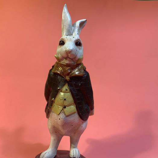 Статуэтка «кролик в смокинге»