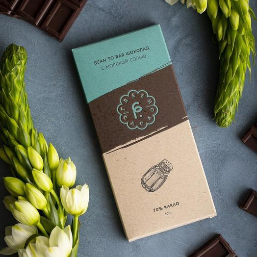 Крафтовый шоколад с морской солью