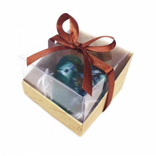 Мини набор -сердце в коробочке (Морской коктейль), мужской, 85 гр