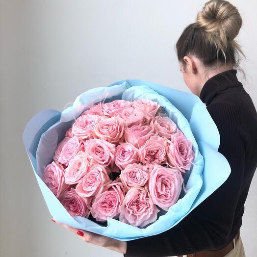 Пионовидные розы Пинк О Хара