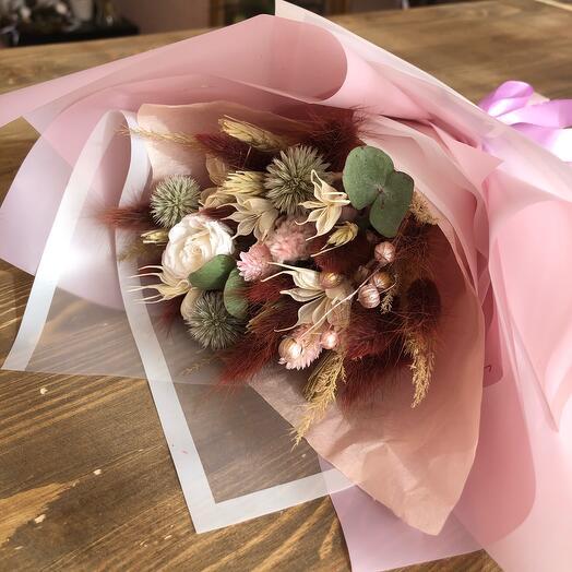 Букет со стабилизированной розой