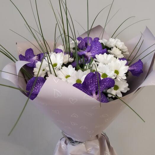 Букет из орхидей Ванда