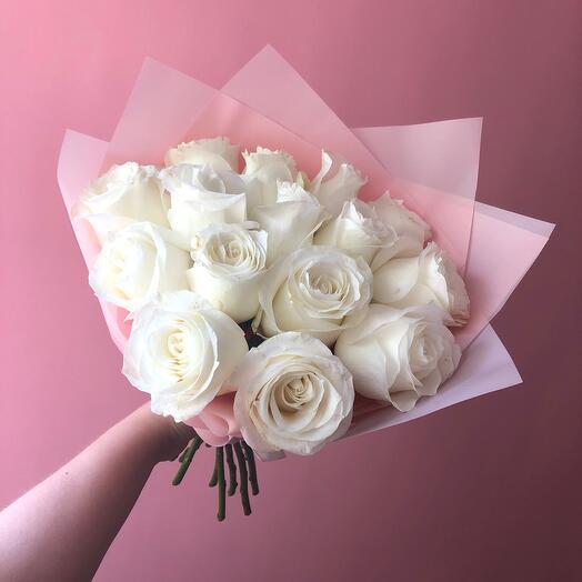 Монобукет из розы Прауд