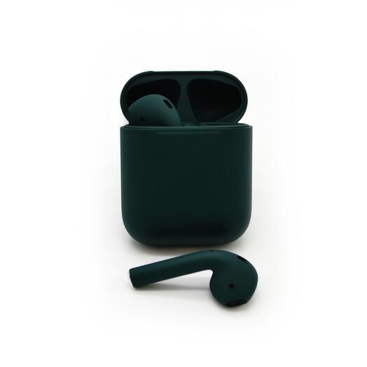 Беспроводные наушники Apple Airpods Color 2 Total Черные Матовые