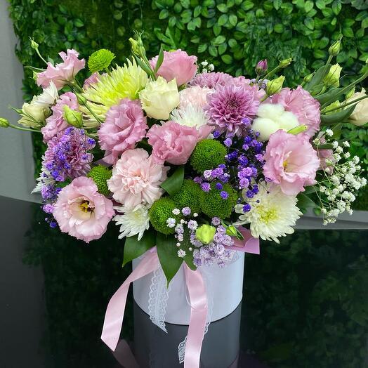 Цветочный сборник в коробке