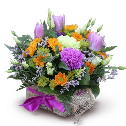 Теплый прием: букеты цветов на заказ Flowwow