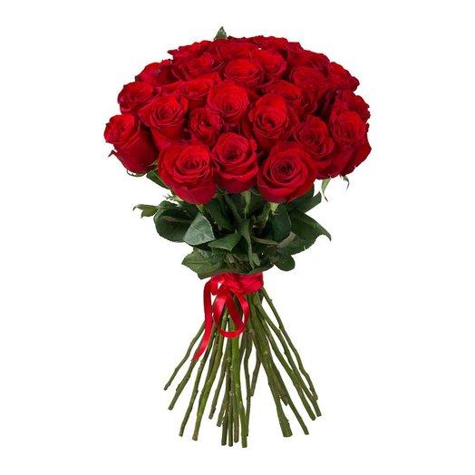 25 красных: букеты цветов на заказ Flowwow