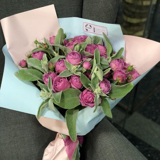 Букет из роз Бабблс: букеты цветов на заказ Flowwow