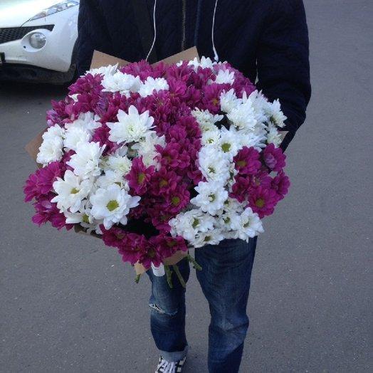 Хризы : букеты цветов на заказ Flowwow