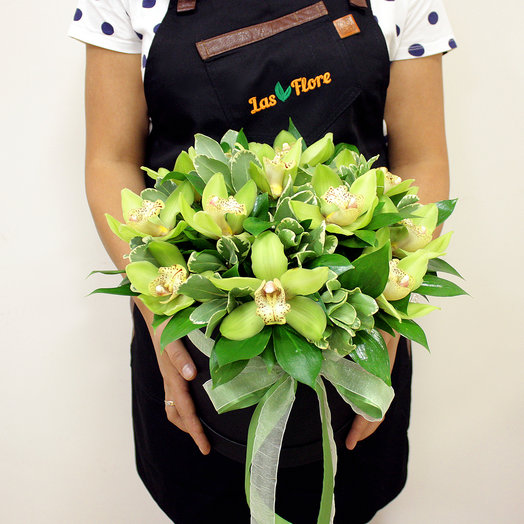 "Коробочки ""Орхидеи"": букеты цветов на заказ Flowwow"