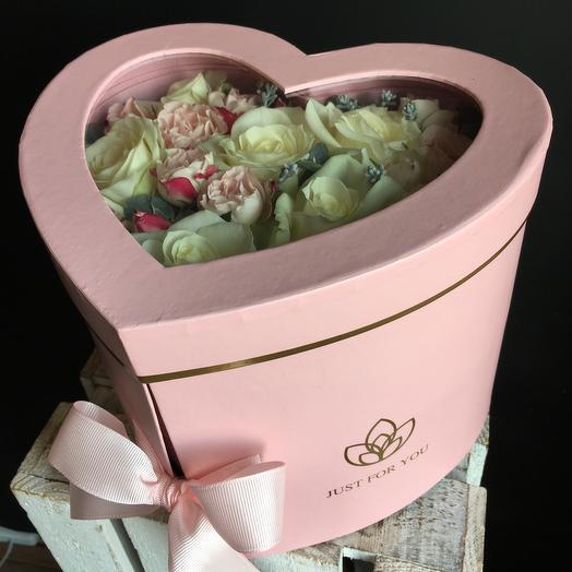 Коробочка с raffaello: букеты цветов на заказ Flowwow