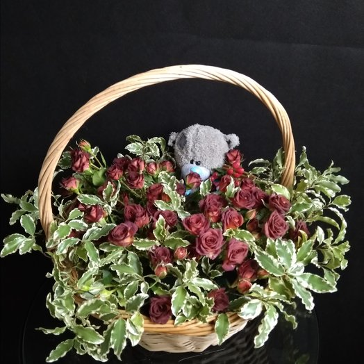 Маша и Миша: букеты цветов на заказ Flowwow