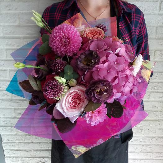 Ультрафиолет : букеты цветов на заказ Flowwow