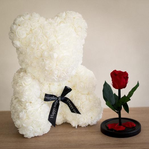 Подарочный набор 3: букеты цветов на заказ Flowwow