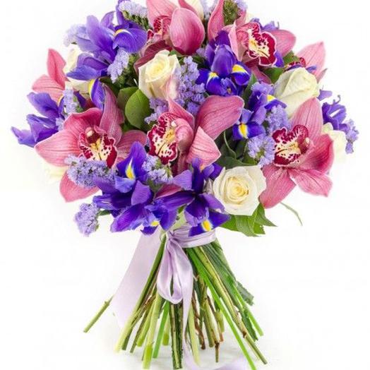 """Букет """"Мелодия сердца"""": букеты цветов на заказ Flowwow"""