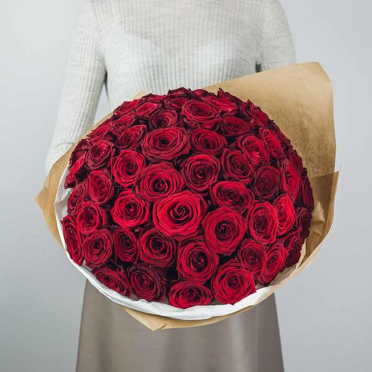 "Розы ""Гран При"": букеты цветов на заказ Flowwow"
